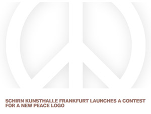 Contest for a new peace logo / Concorso per un nuovo logo per la pace | The Schirn Kunsthalle Frankfurt, > 08 MAY 2017