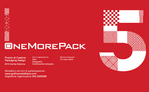 OneMorePack | Grafica Metelliana, > 31 MAR. 2018