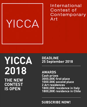 YICCA 2018 - International Contest of Contemporary Art, Associazione A.p.s. Moho, Via Zara 122/124 - 33038 Villanova di San Daniele del Friuli (UD), Italy | HDLU - Hrvatsko Društvo Likovnih Umjetnika (Final exhibition), > 25 SEP. 2018