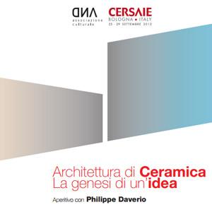 Architettura di ceramica la genesi di un idea and rivista di
